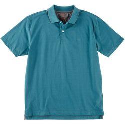 Dockers Mens Solid Performance Polo Shirt