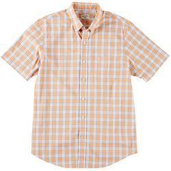 Dockers Mens Comfort Flex Plaid Woven Shirt