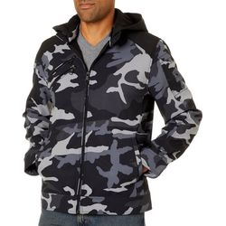 Urban Republic Mens Soft Shell Camo Jacket