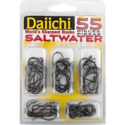 Daiichi 55-pc. Saltwater Fishing Hook Kit
