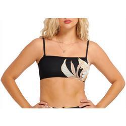 Everday Sunday Womens Floral Bandeau Bikini Top