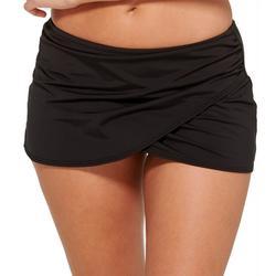 Womens High Waist Wrap Swim Skirt