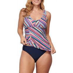 Womens 2 Pc Nokomis Groves Tankini Swim Set