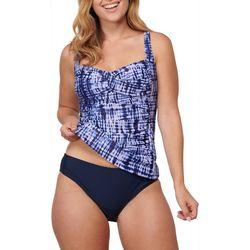 Noon Swim Womens 2 Pc Englewood Palms Tankini