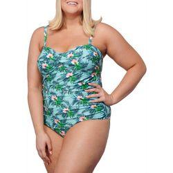 Noon Swim Plus Siesta Bandeau One Piece Swimsuit