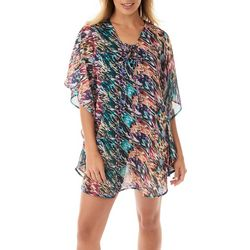 Take Cover Womens Lace Up Cover-Up