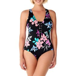 PENBROOKE Womens Garden Lily Beaded Front Mio One