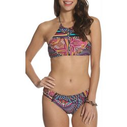 Sun and Sea Womens Colored Lights Kai Koa Bikini Top