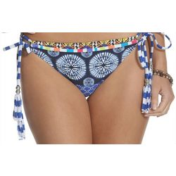 Sun and Sea Womens Sapphire Kokua Side Tie Brief