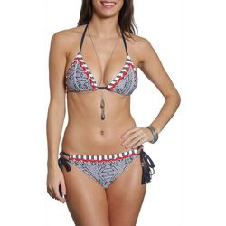 Sun and Sea Womens In The Blue Kokua Side Tie Brie