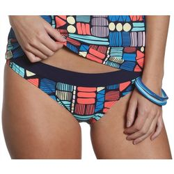 Sun and Sea Juniors Tiki Hut Foldover Swim Bottoms