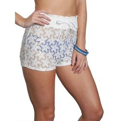 Sun and Sea Juniors Crochet Shorts