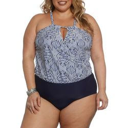 Plus Nazca Crossover Swimsuit