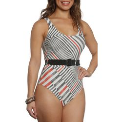 Sun and Sea Womens Moma Belted One Piece