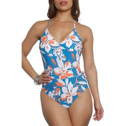 Sun and Sea Womens Enchanted Crossover One Piece