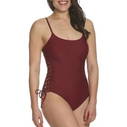 Sun and Sea Womens Sea Side Grommet One Piece