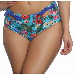 Sun and Sea Womens Tiki Time Retro Swim Bottoms