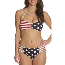 Sun and Sea Juniors Americana Bandeau Bikini Top