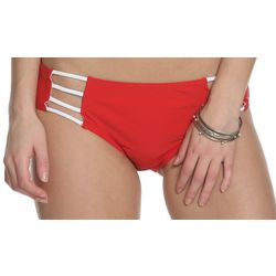 Juniors American Beauty Solid Bikini Bottoms