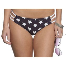Sun and Sea Juniors Americana Stars Bikini Bottoms