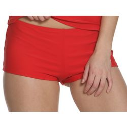 Juniors Americana Boyshort Swim Bottoms