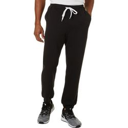 Boca Classics Mens Solid Jogger Pants