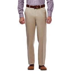 Haggar Mens Premium No Iron Solid Pants