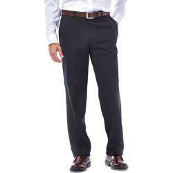 Haggar Mens Elco Stretch Slim Fit Pants