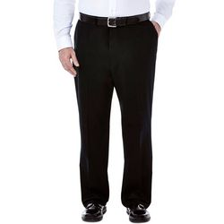 Haggar Mens Big & Tall Work To Weekend Pants