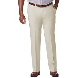 Haggar Mens Big & Tall Cool 18 Pro Pants