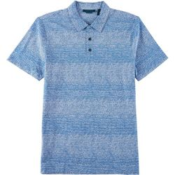 Perry Ellis Mens Scribble Button Down Short Sleeve