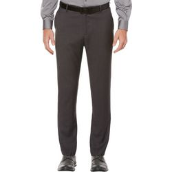 Perry Ellis Mens Solid Stretch Dress Pants