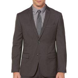 Perry Ellis Mens Solid Suit Jacket