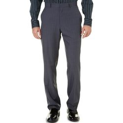 Perry Ellis Mens Plaid Performance Dress Pants