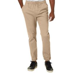Wearfirst Mens Solid Stretch Jogger Pants