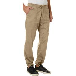 Wearfirst Mens Fine Faille Stretch Jogger Pants