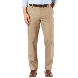 Dockers Mens Signature Khaki Straight Flat Front Pants