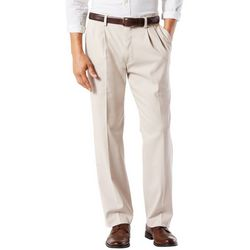 Dockers Mens Easy Stretch Pleated Pants