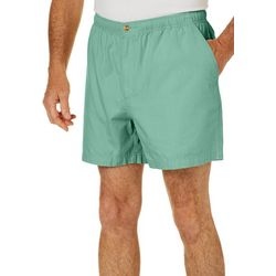 Windham Pointe Mens Solid 7'' Elastic Waist Shorts
