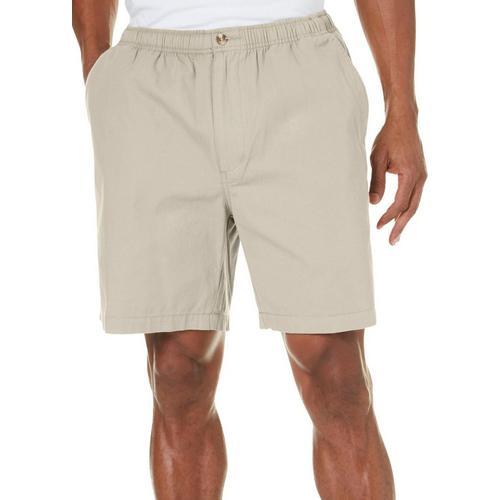 41ab0feec5 Windham Pointe Mens Solid 7'' Elastic Waist Shorts   Bealls Florida