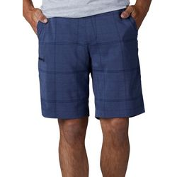 Lee Mens Triflex Plaid Print Shorts