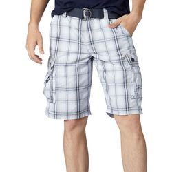 Lee Mens Wyoming Winston Plaid Cargo Shorts