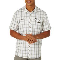 Wrangler Mens Asymmetric Short Sleeve Shirt