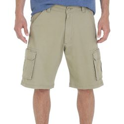 Wrangler Mens Solid Tampa Cargo Shorts