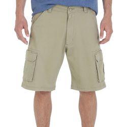 Wrangler Mens Solid Tampa Cargo Shorts
