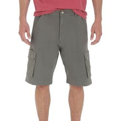 Wrangler Mens Tampa Solid Cargo Shorts