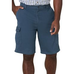 Wrangler Mens Nash Solid Cargo Shorts