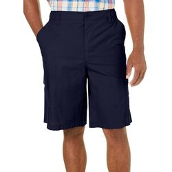 Boca Classics Mens Fineline Solid Cargo Shorts