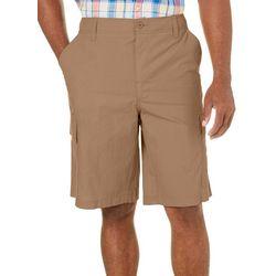Boca Classics Mens Solid Ripstop Cargo Shorts