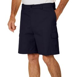 Windham Pointe Mens Solid Cargo Shorts